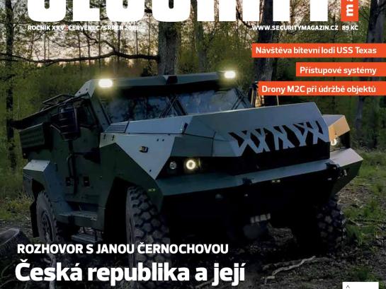Adam Security magazín obálka