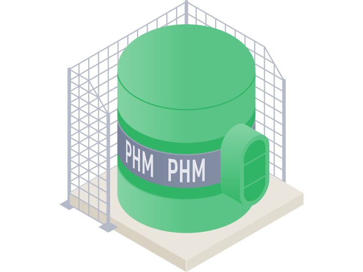 A demonstration of the functions of the PHM module will say more about the benefits of use
